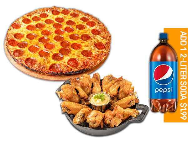 PIZZA & 15 WINGS  thumbnail