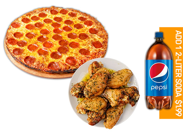 PIZZA & 5 WINGS  thumbnail